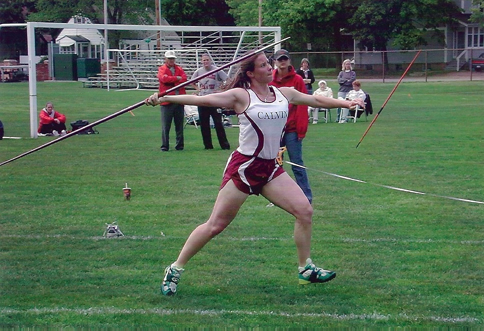 Division III All American Javelin thrower.