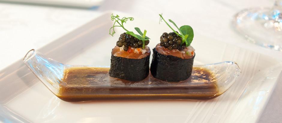 Caviar at the Palace