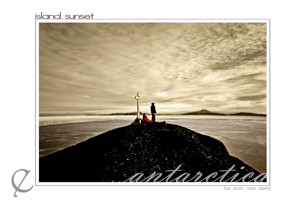 Antarctic Island Sunset