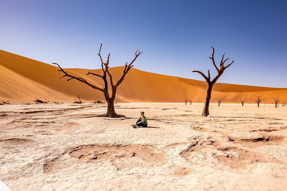 Dead Vlei in the Sossusvlei area of Namibia.