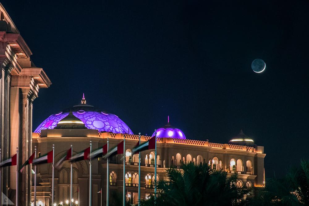 Emirates Palace Hotel, Ramadan, New Moon, Abu Dhabi, United Arab Emirates, night, iftar, buffet