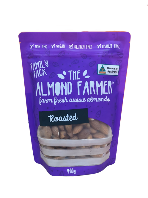 Australia Roasted Almonds Family Pack (400g)
