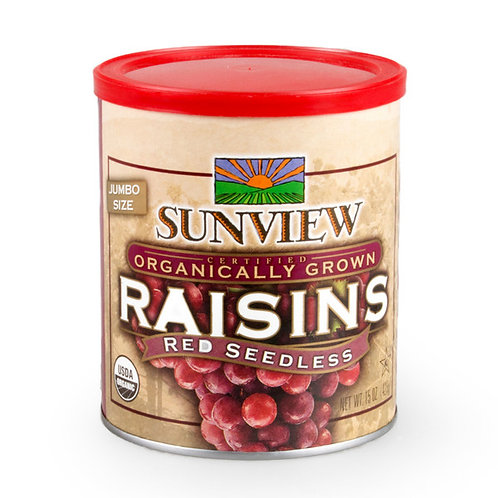 Organic Dried Red Raisin (425g)
