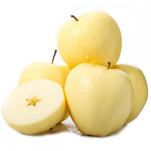 China Cream Fuji Apple 4PCS