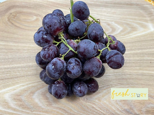 Aust Red Globe Seeded Grapes (500g)
