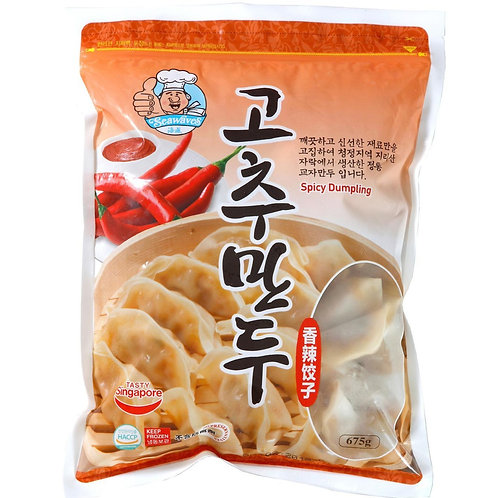 Seawaves Frozen Spicy Dumpling (675g)