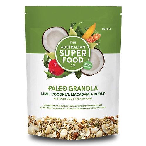 Superfood Paleo Granola (Lime, Coconut, Macadamia Burst)