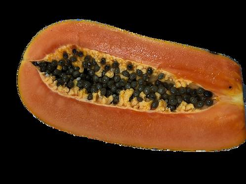 1/2 cut Papaya