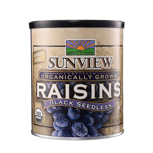 Organic Dried Black Raisin (425g)