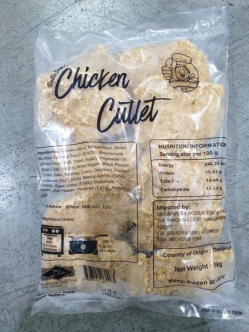 Seawaves Battered Chicken Cutlet (1kg)