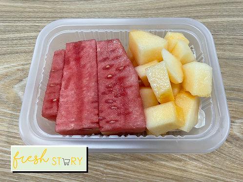Rockmelon & Watermelon Cube (200g)