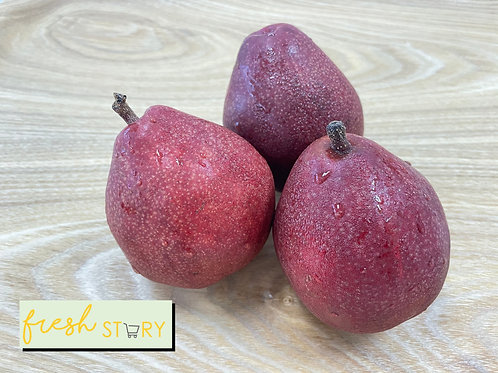 USA Red Anjou pear (3pcs)