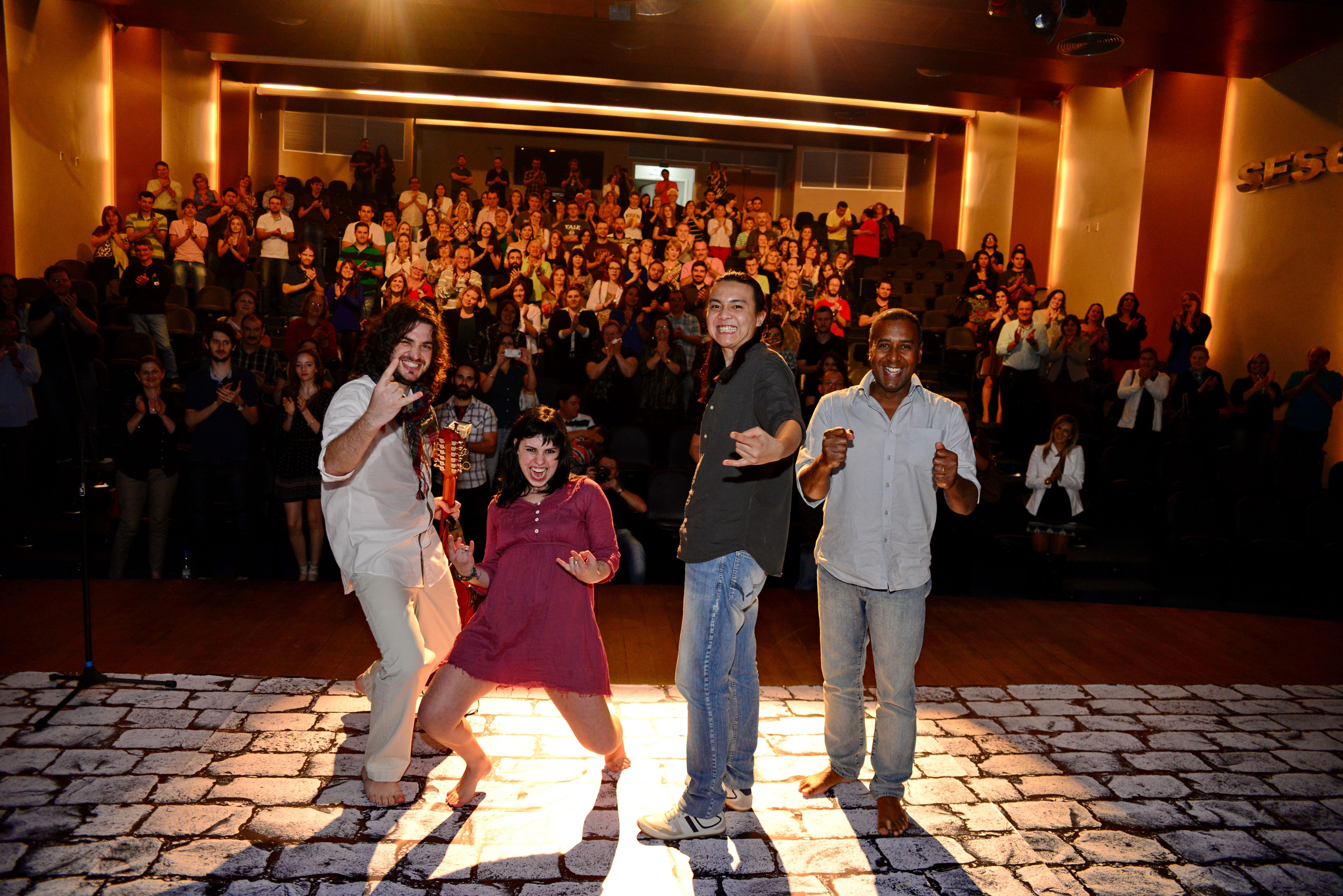 Show de Lançamento do CD Correnteza