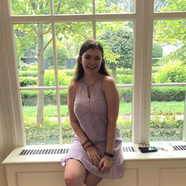 Assistant Philanthropy: Morgan Price (she/her/hers)