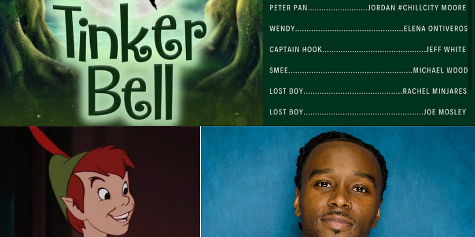 #ChillCity plays Peter Pan in Tinker Bell Production