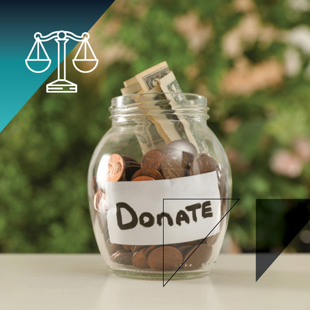THOUGHT OF THE WEEK Taxed when making donations?