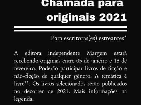 Chamada para originais 2021