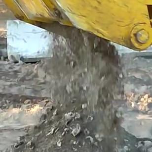 Epiroc Bucket Crusher Closeup