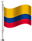 Colombian flag on pole.png