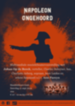 Affiche Napoleon Ongehoord doorlopend.pn