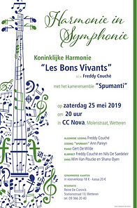 les bons vivants concert mei 2019 met sp