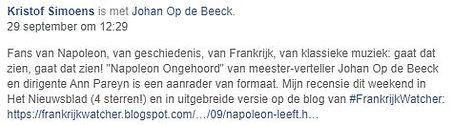 Napoleon Ongehoord in Nieuwsblad.JPG