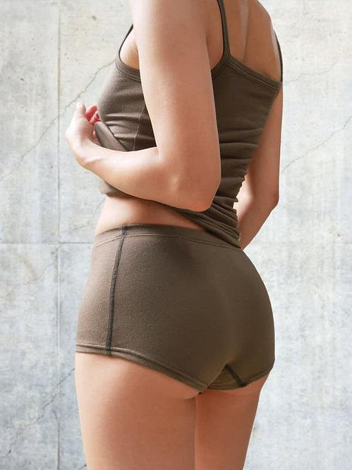 """skin"" Modal Boxer Shorts Khaki"