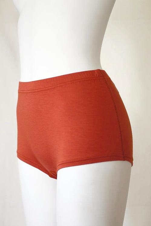 """""""skin"""" Modal Boxer Shorts orange brown"""