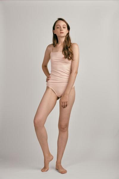 """skin"" Modal Tanga Smoky pink"
