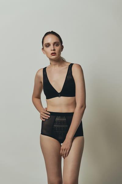 High Shorts Geometry ブラック