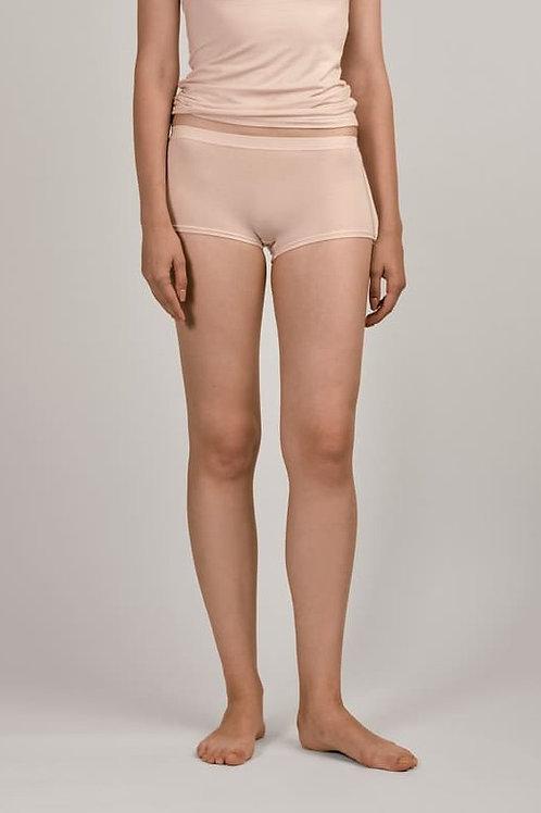 """skin"" Modal Boxer Shorts Smoky Pink"