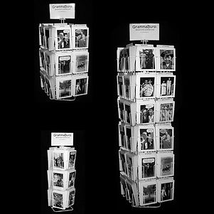 GrammaBurp cards on display.jpg