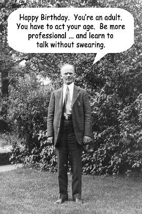 133 No Swearing