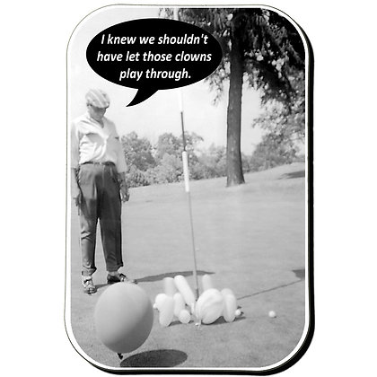 Golf Fridge Magnet M004