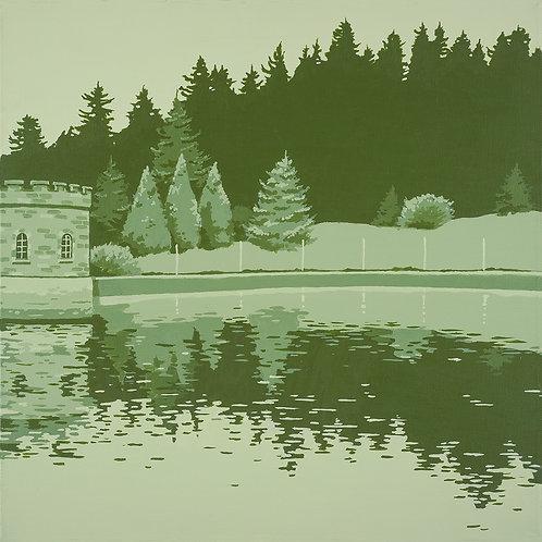 Mt. Tabor 10x10 print