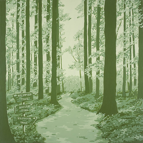 Forest Park  10x 10 print