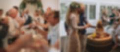 Wedding Speeches, cheese wheel cake