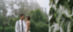 Misty Wet Wedding