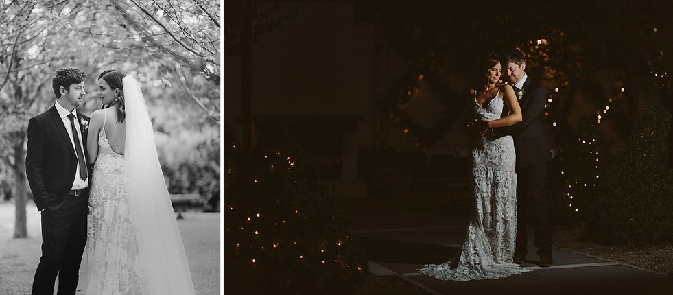 fairy lights wedding