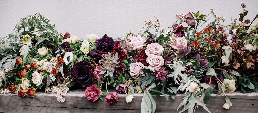 Winter Floral Garland