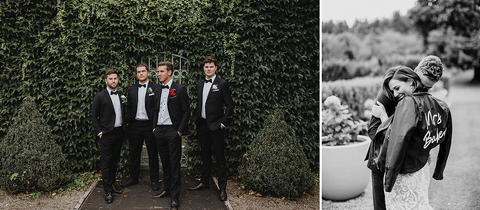 Groomsmen, boston Ivy