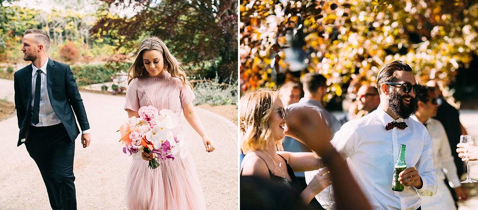 Blush weddng dress