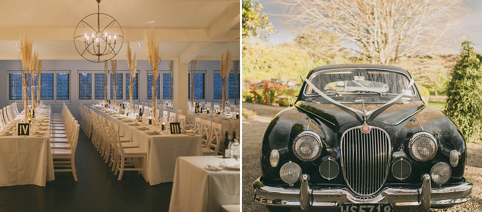 Banquet wedding tables