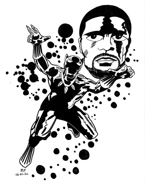 BLACK PANTHER T'CHALLA TRIBUTE