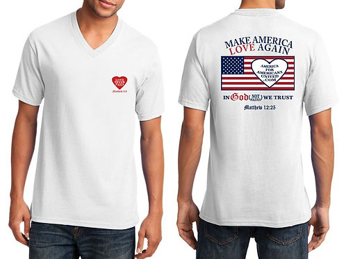 MAKE AMERICA LOVE AGAIN t-shirt