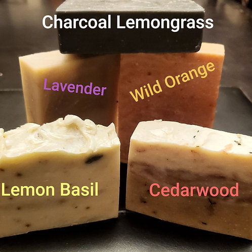 Essential Oil Soap Collection