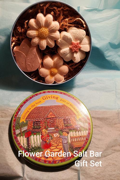 Flower Garden Salt Bar Gift Set