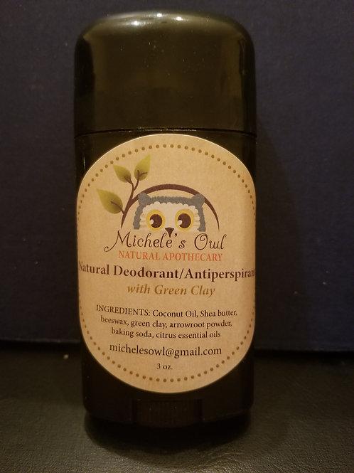 All Natural Deodorant & Antiperspirant