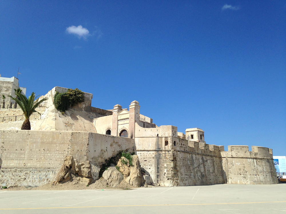 The Old Casbah Fort in Tangier Morocco