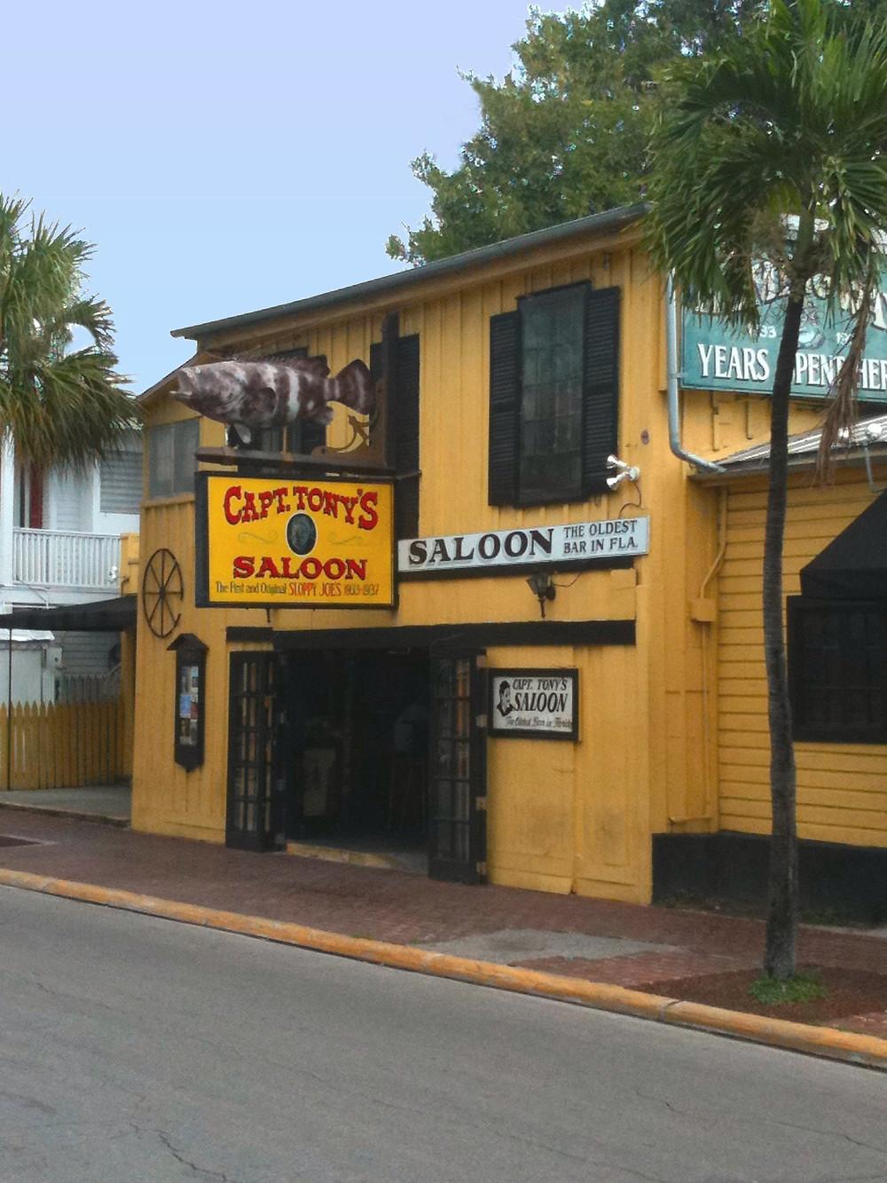 Captain Tony's Saloon Key West Travel
